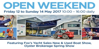 Fox's Marina & Boatyard Open Weekend