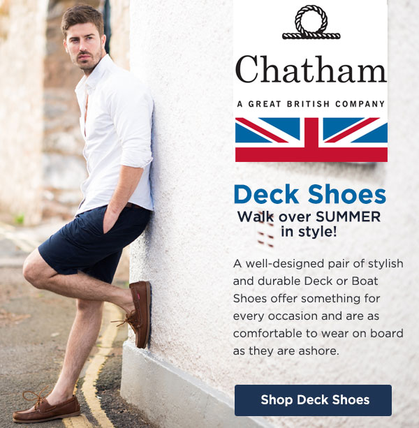 Chatham Deck Shoes Offer