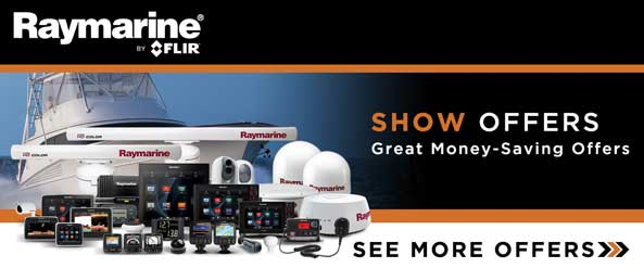 Raymarine Boat Show Offers