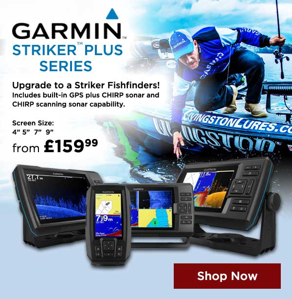 Garmin Striker Plus Fishfinders